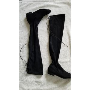 Chinese Laundry Richie sz 7.5 black over knee boot